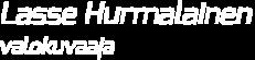 Valokuvaaja Lasse Hurmalainen Logo